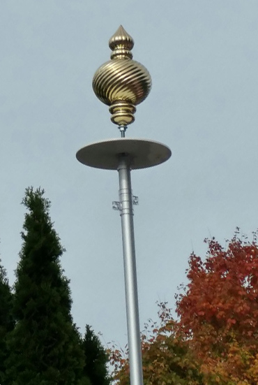 15 inch Flagpole Topper