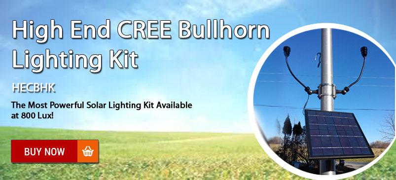 High End CREE Bullhorn Lighting Kit