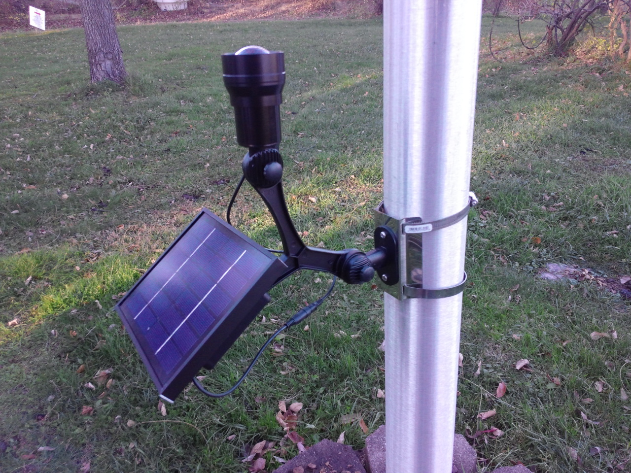 Commercial Solar Light with CREE Fixed Neck