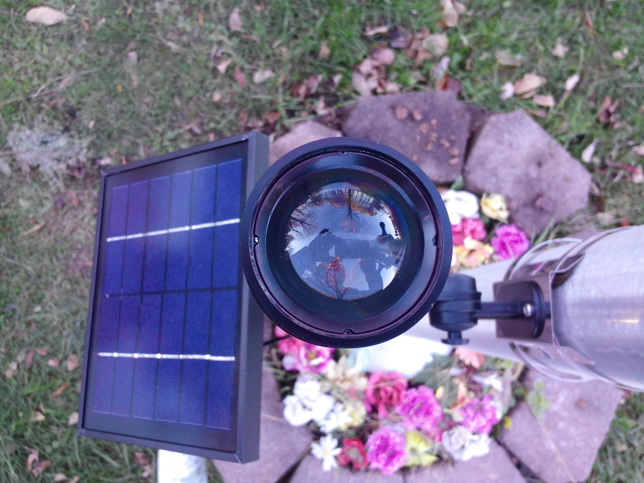 CREE Fixed Head Commercial Solar Flagpole Light
