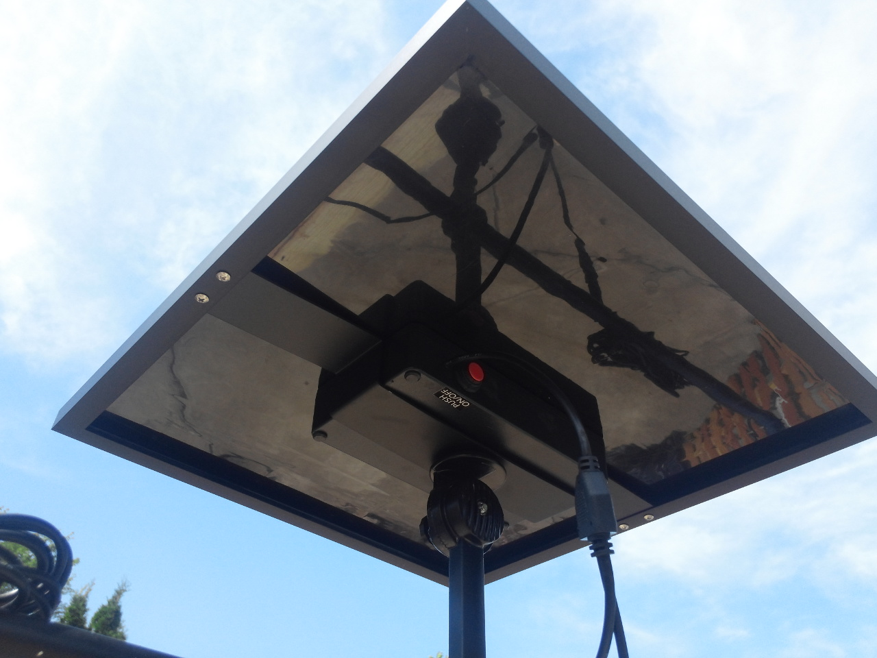 Commercial Solar Billboard Light 2 - Solar Panel