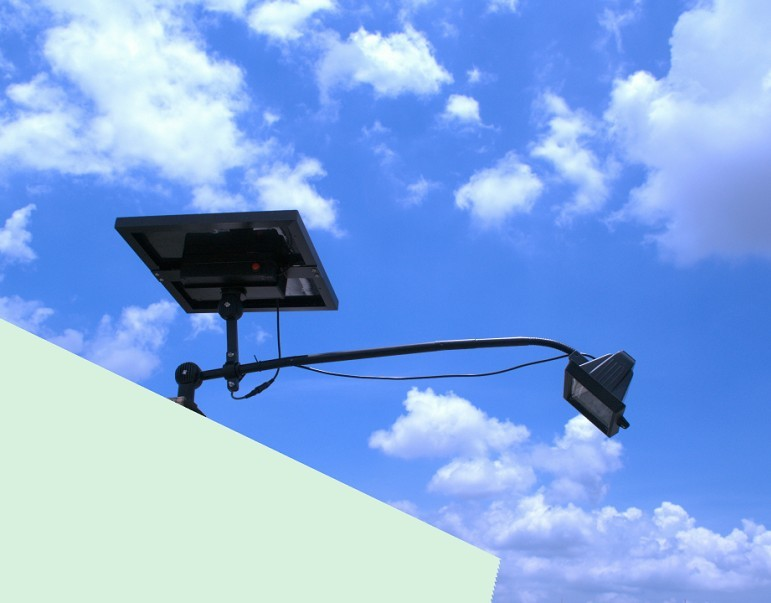 this commercial solar billboard light has 4 different light settings. Black Bedroom Furniture Sets. Home Design Ideas