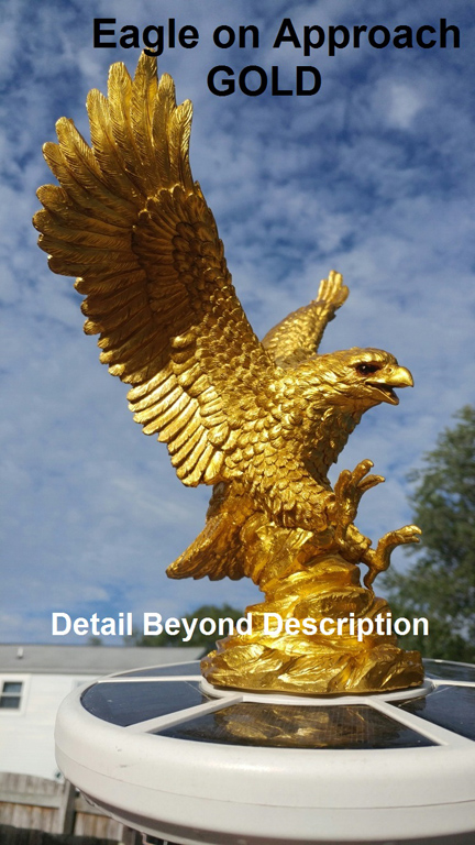 Eagle-on-Approach-Gold-Flagpole-Topper
