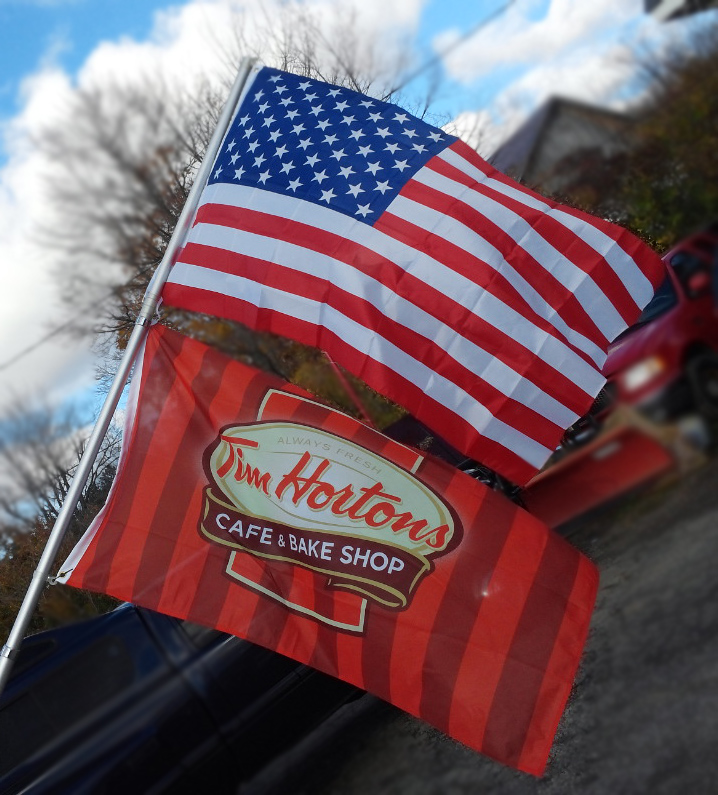 Tim Hortons Flag - 3' x 5'