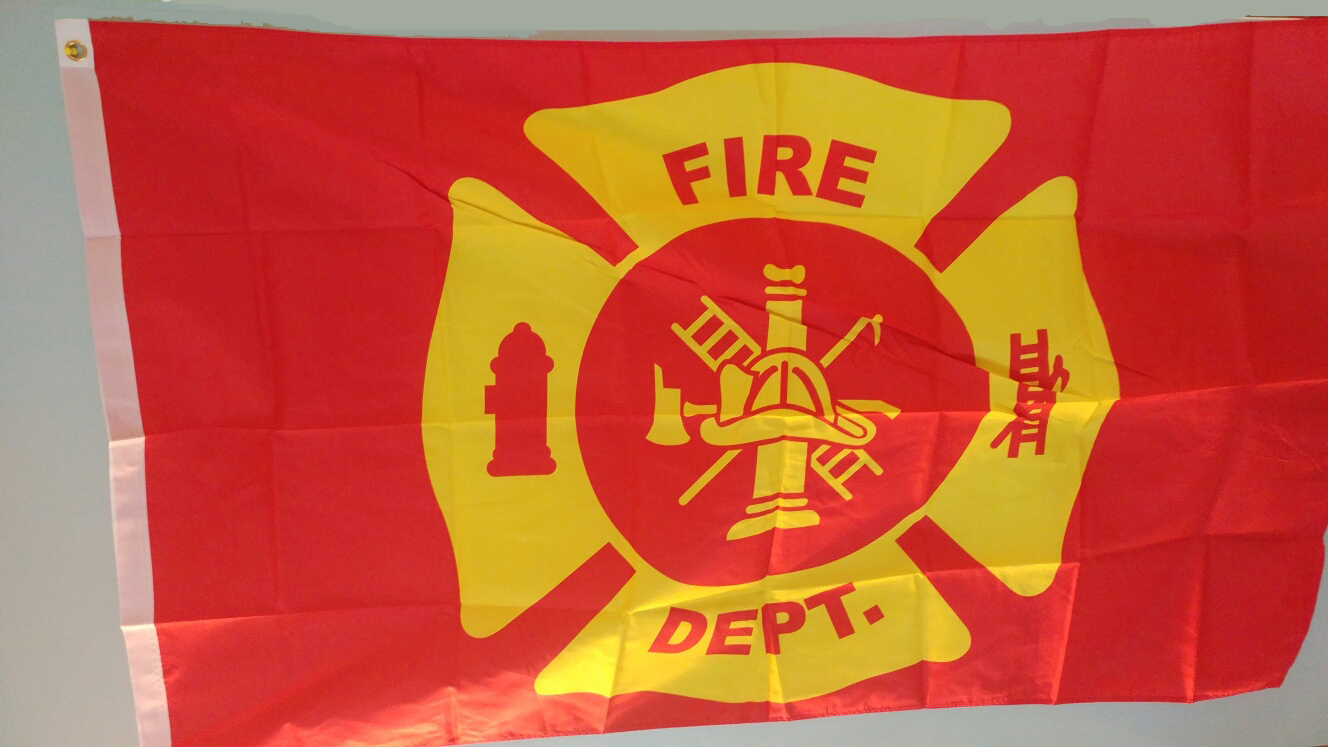 Fire Department 3x5 Flag Product Details