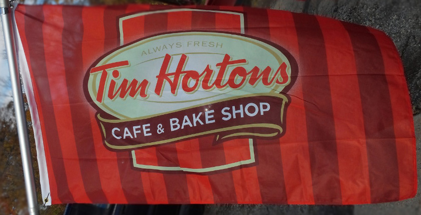 Tim Hortons - Cafe & Bake Shop Flag
