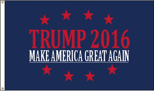 Donald Trump for President Flag