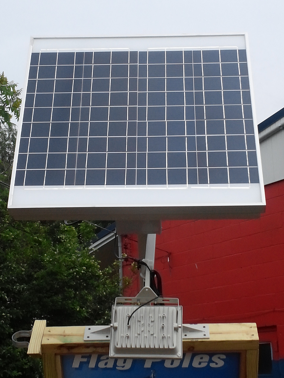 High End Commercial Solar Billboard Light Solar Panel