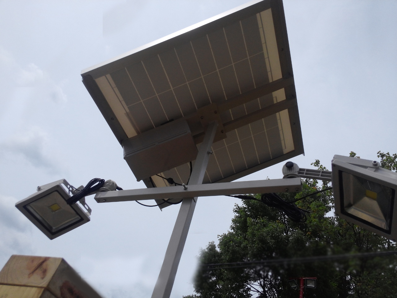 High End Commercial Solar Billboard Light 2 Lightheads