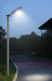 High End Commercial Solar Security Light