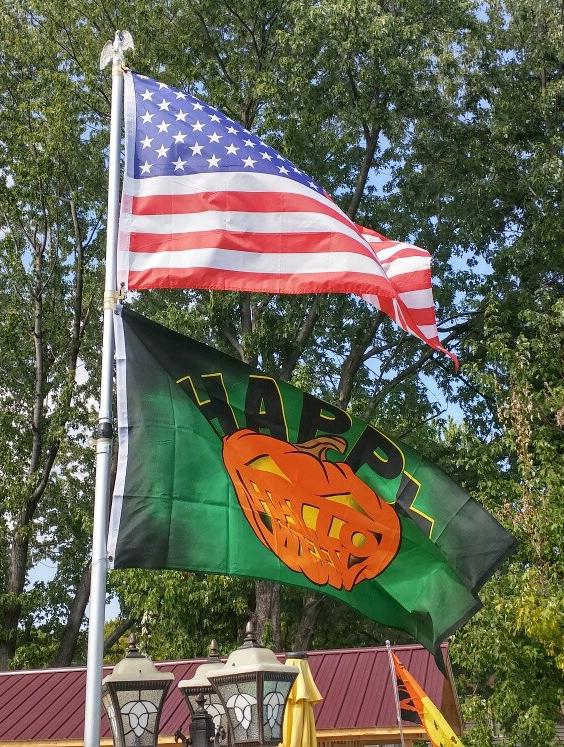 HALLOWEEN PUMPKIN FLAG 2/' x 3/' HAPPY HALLOWEEN FLAGS 60 x 90 cm BANNER 2x3 f
