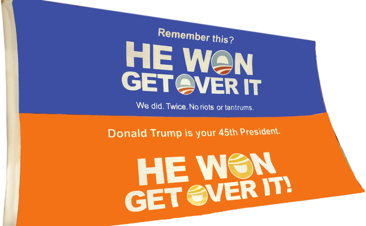 He Won Get Over It
