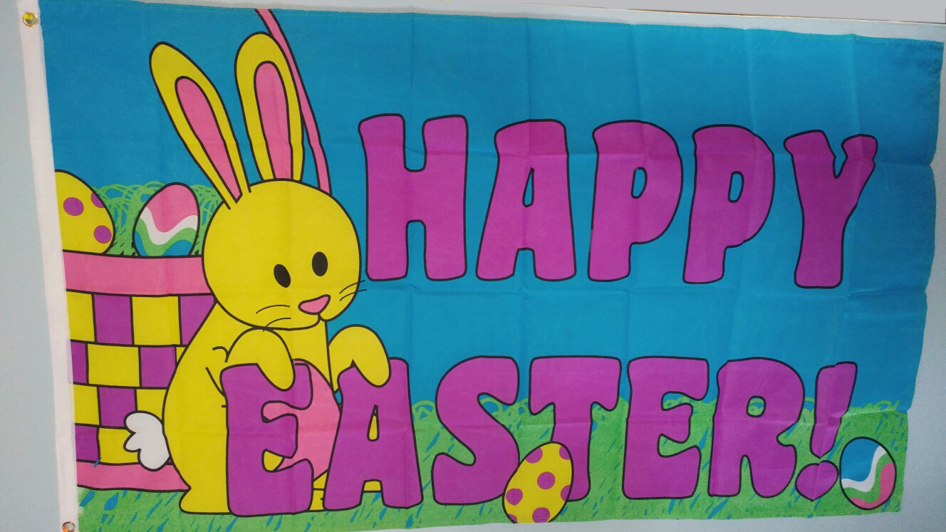 Happy Easter Flag