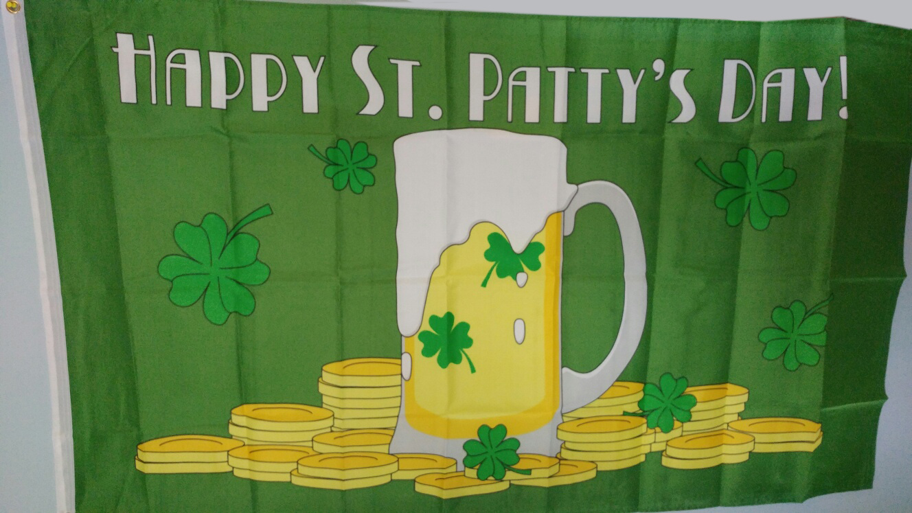 Happy St. Patty's Day Flag