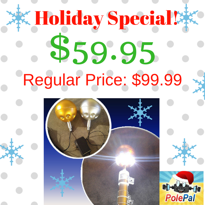 Flagpole Ball Light - 2017 Holiday Special