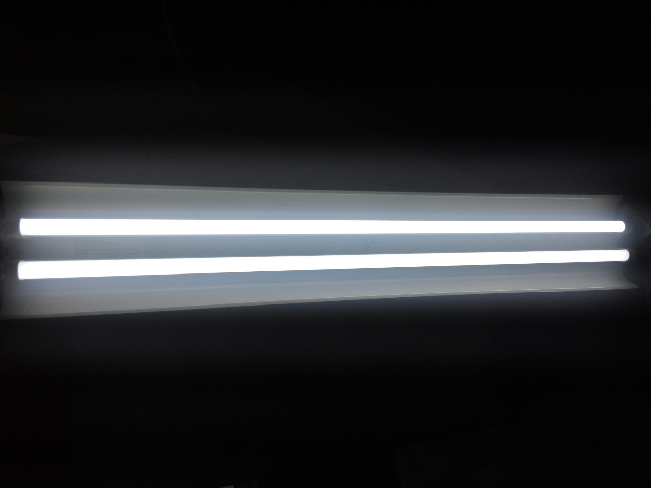 LED Tube Light Illuminated