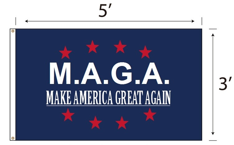 M.A.G.A. Flag (Make America Great Again)