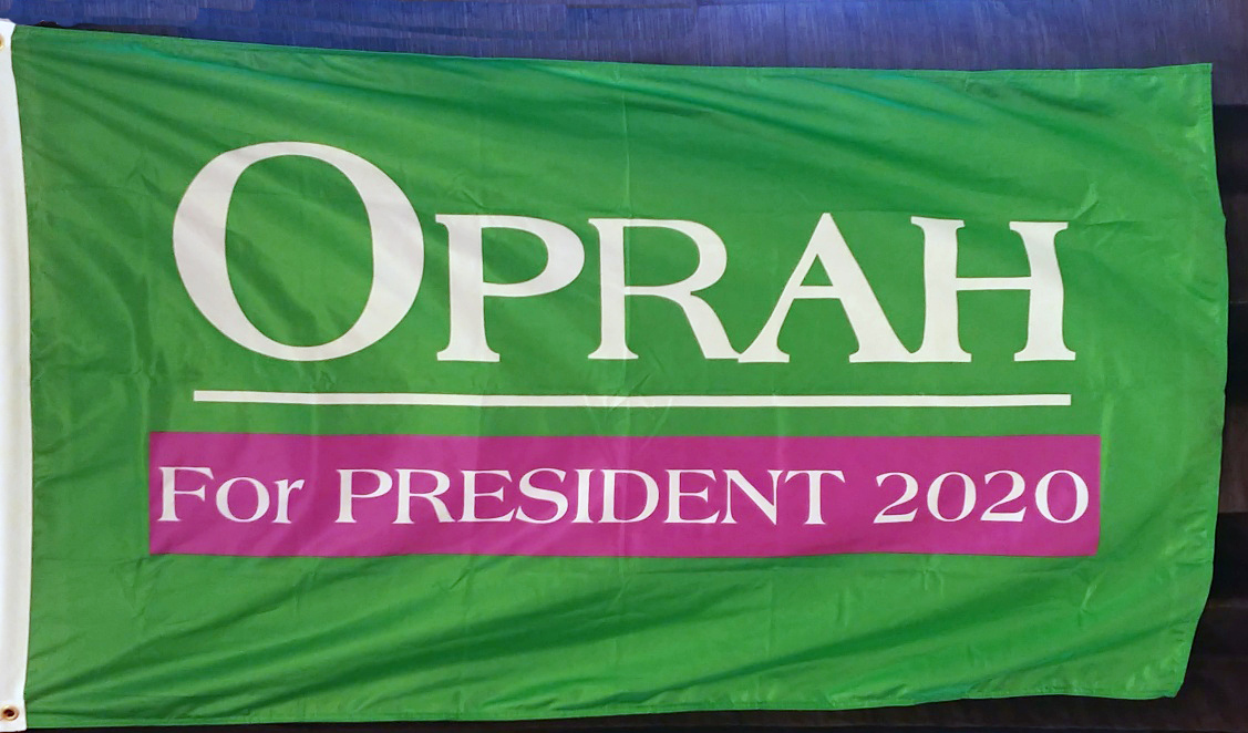 Oprah for President 2020 Flag