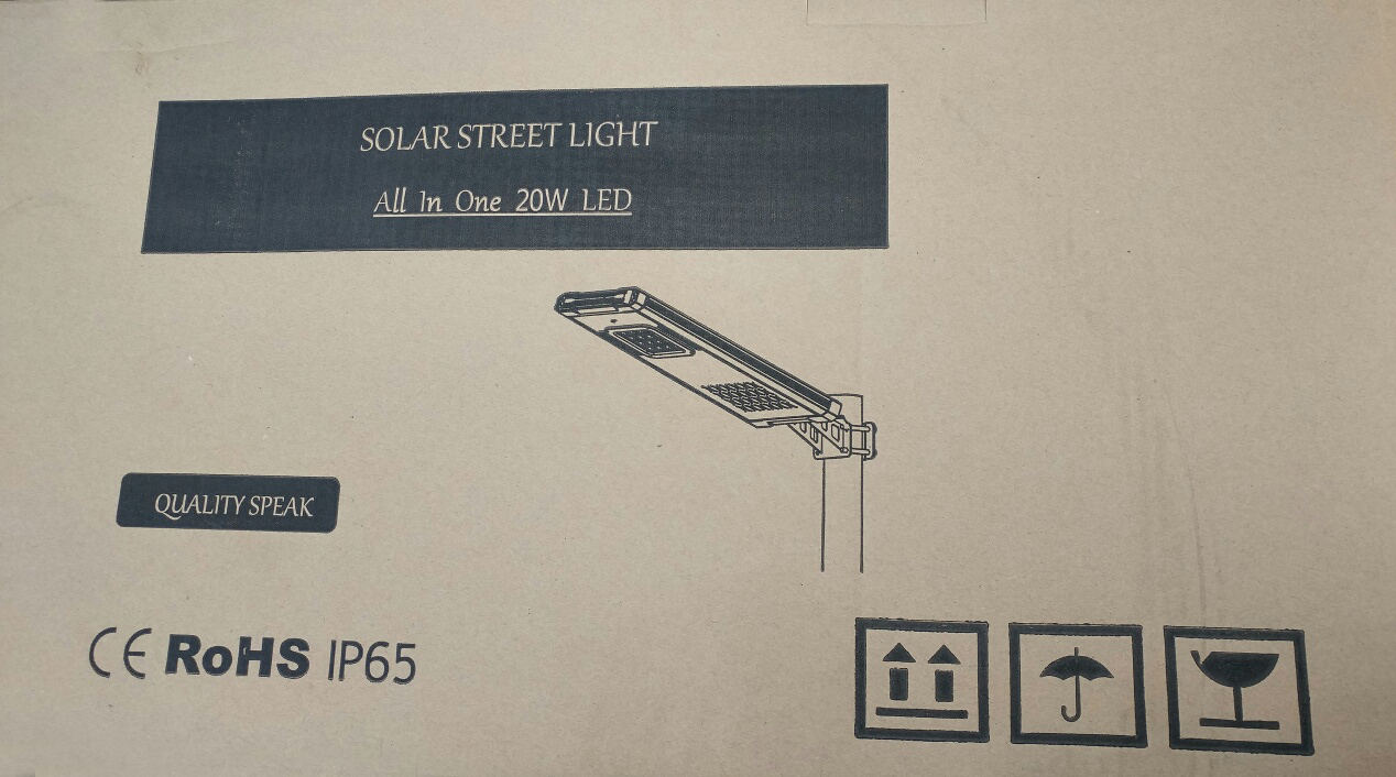 20 WATT Solar Street Light / Landscape Light