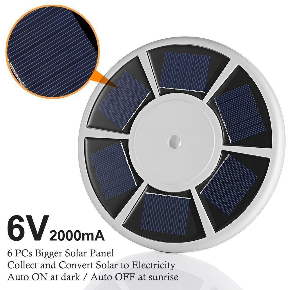 Solar Flagpole Top Light  - 5th Generation