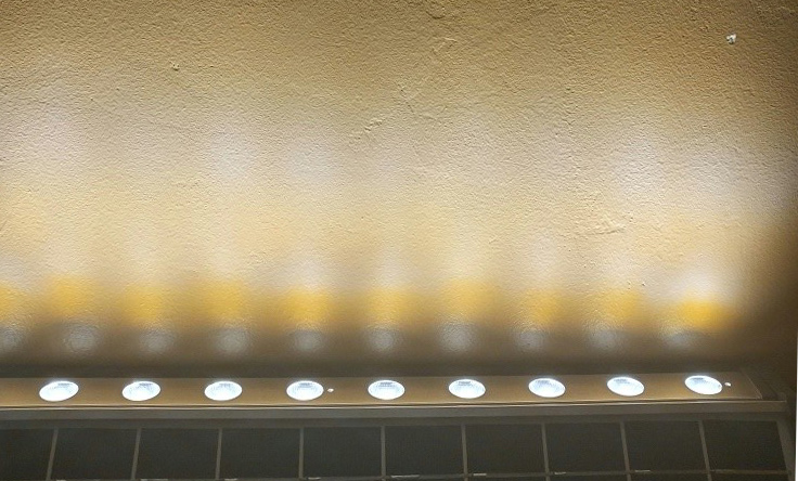 Solar Wall Washer Light