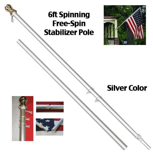 Tangle Free Spinning Flagpole Product Details