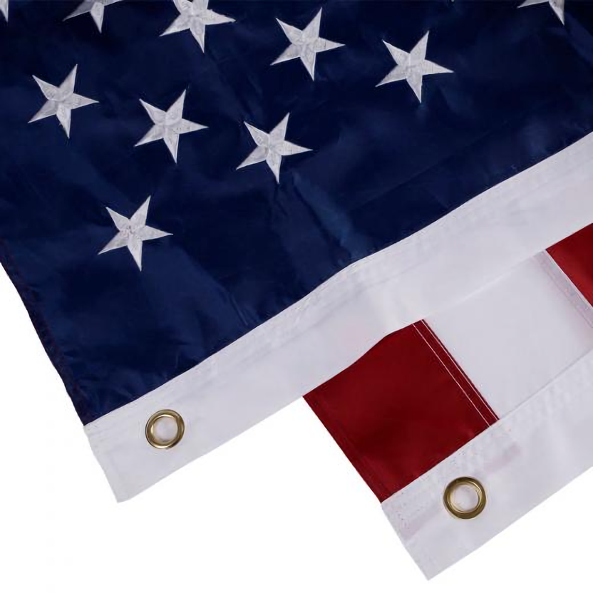 5ft. x 8ft. American Flag with grommets