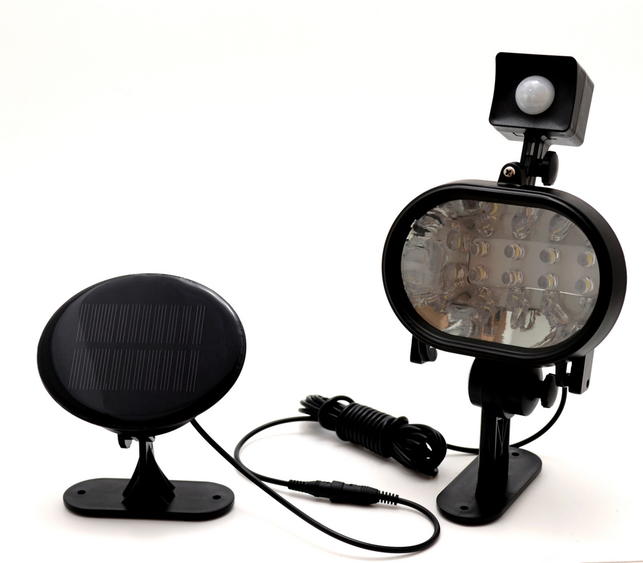 8 LED Motion Activated Solar Light
