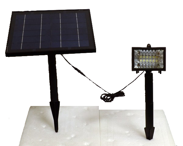 High End Commercial Solar Led Flagpole Light Product Details