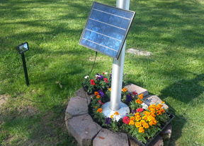 High End Commercial LED Solar Light