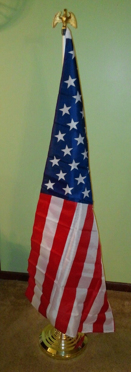 Ceremonial Indoor Flag Display Product Details