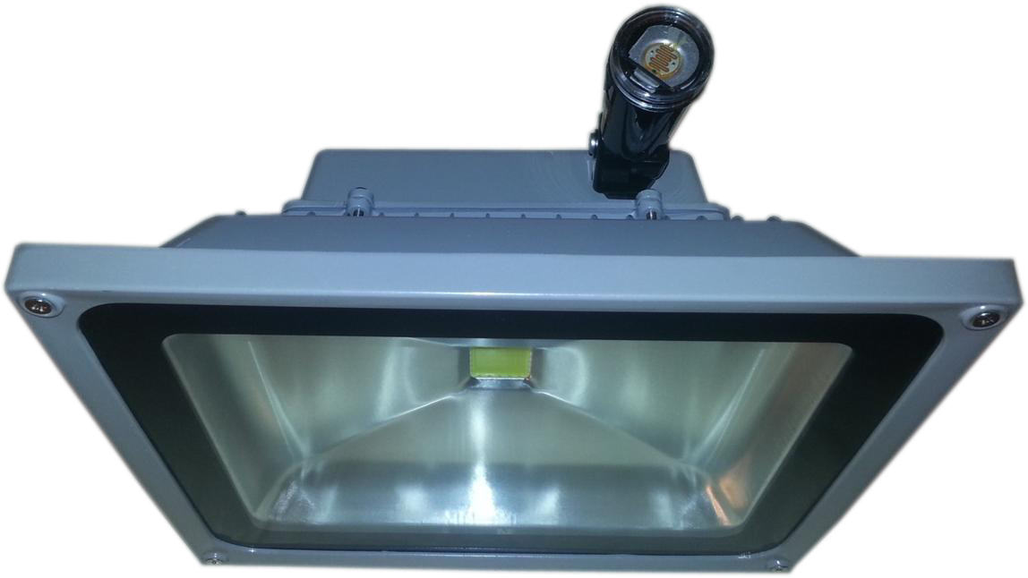 LED Flood Light with Adjustable Photo-eye - front