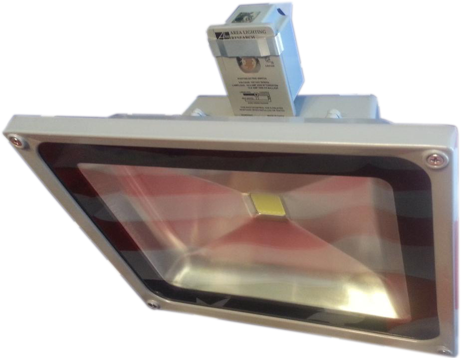 LED Flood Light with Fixed Photo Eye