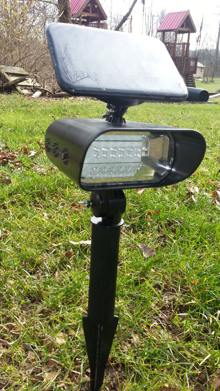 LED Solar Landscape Light